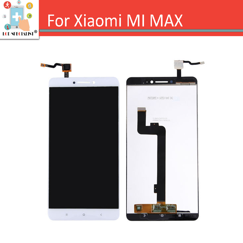 6.44 For Xiaomi Mi Max LCD Screen Display Touch Screen Digitizer Sensor Glass 100% NEW Replacement Parts White