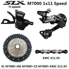 SHIMANO DEORE SLX M7000 Groupset MTB Mountain Bike M7000 Groupset 11 Speed 40T 42T 46T M7000 Rear Derailleur Shift Lever
