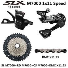 SHIMANO DEORE SLX M7000 مجموعة الدراجة الجبلية MTB M7000 مجموعة 11 سرعة 40T 42T 46T M7000 الخلفية Derailleur رافعة تحول