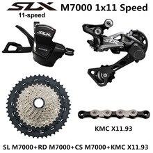 Shimano deore slx m7000 groupset mtb mountain bike m7000 groupset 11 velocidade 40 t 42 t 46 t alavanca de deslocamento desviador traseiro m7000
