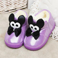 2016 new winter Children Slippers Girls Boys shoes kids Warm Cotton Slippers Cute Cartoon Slippers
