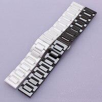 18mm 20mm Full Ceramic Watchbands For DW Daniel Wellington Watch Band Wrist Strap Replacement Link Bracelet