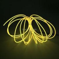 Vender 2017 UNIDAD DE AC100-220V caliente + 10 colores elegir 2,3mm 15 metros EL cable flexible LED neón Luz de vacaciones para decoración de estilo de coche DIY