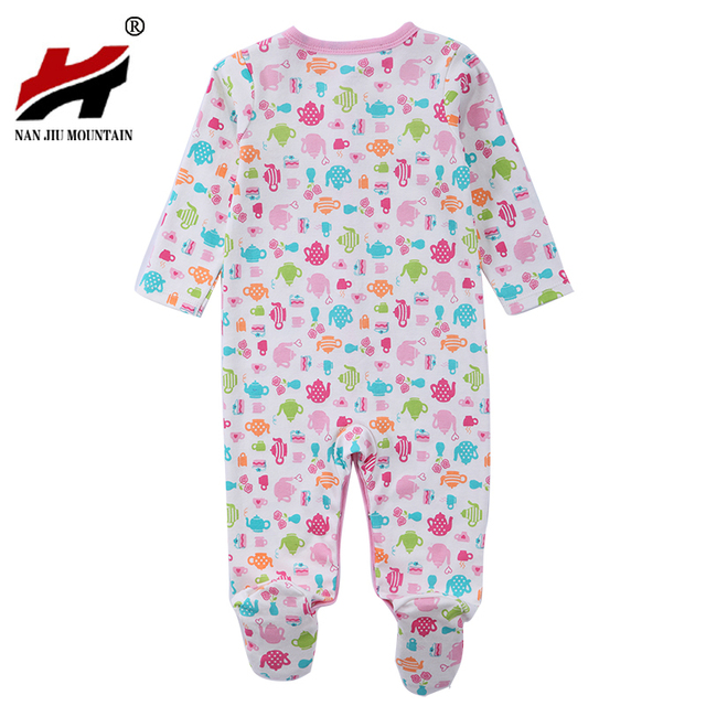 ed8056943 3 PCS Mother Nest Brand Baby Romper Long Sleeves 100% Cotton Baby ...