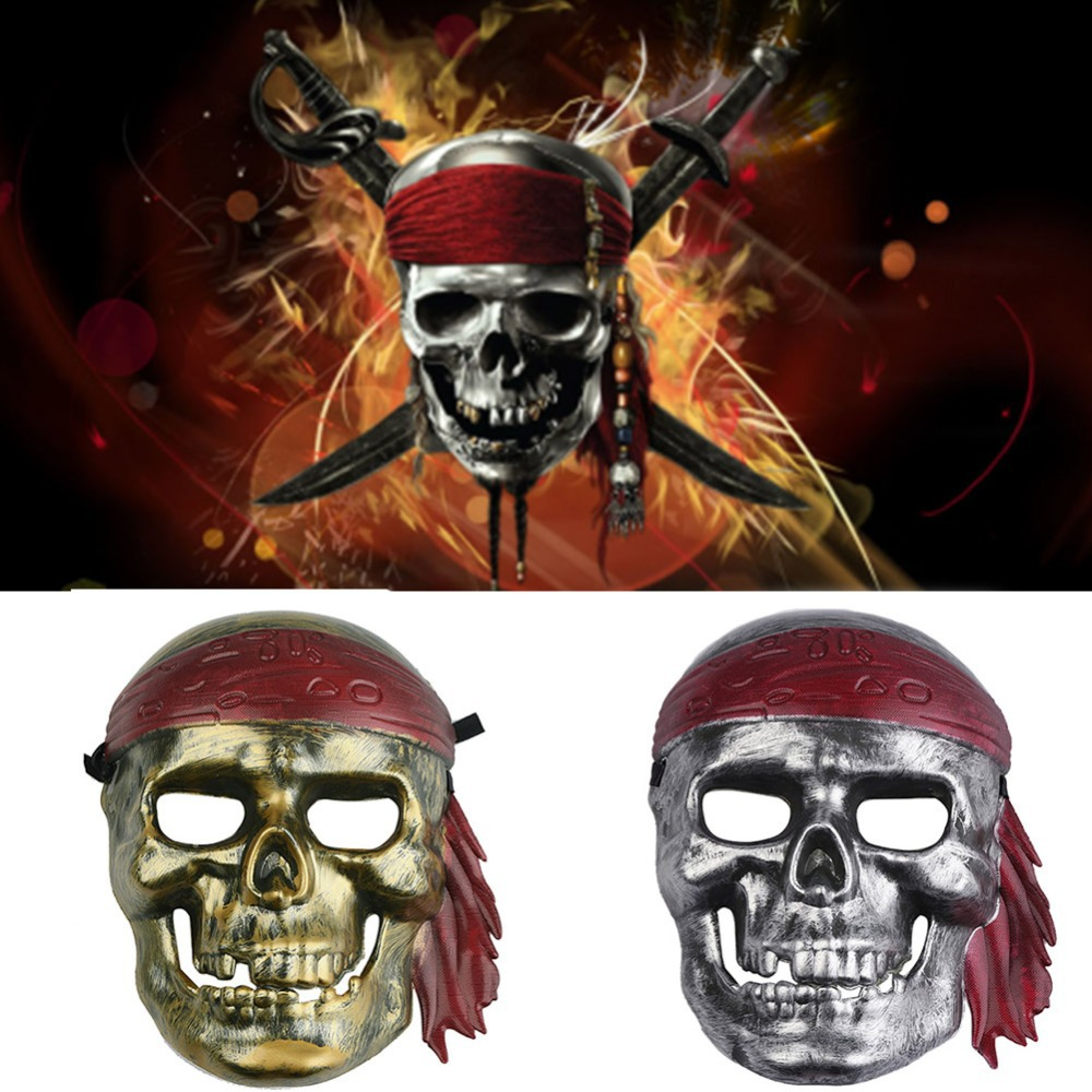 Online Shop Pirates of the Caribbean Jack Mask Masquerade ...