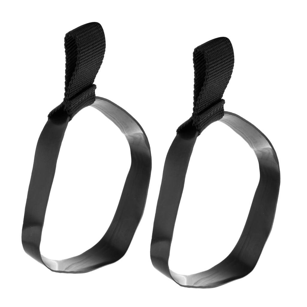 2 Pieces Technical Scuba Diving Stage Tank Bottle Hose Retainer Band Anti-slip Diving Equipment Replacement Accessories S/L