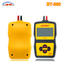 Autool BT360 Battery Tester 12V Best price Automotive Battery BT-360 Analyzer 2000CCA 220AH high sale Battery Charging