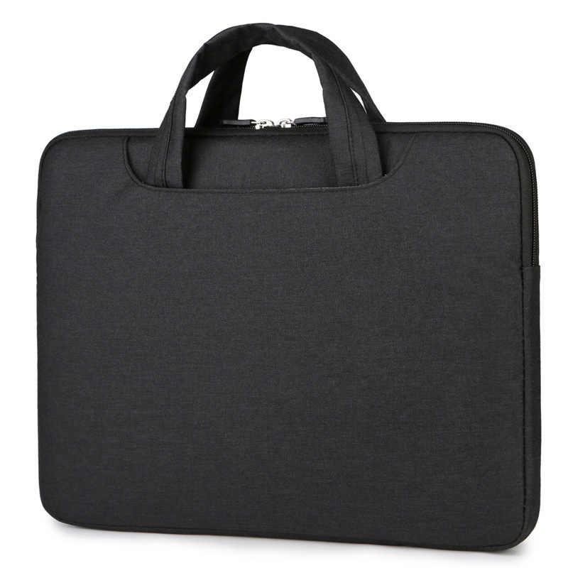 حقيبة لابتوب حالة 13 بوصة 15.6 دفتر حقيبة 14 بوصة للماء حقيبة جراب للماك بوك الهواء 13 برو الشبكية 15 كم حقيبة ل ديل وآسوس