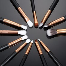 Professional 12pcs Pro Makeup Brushes Set Foundation Powder