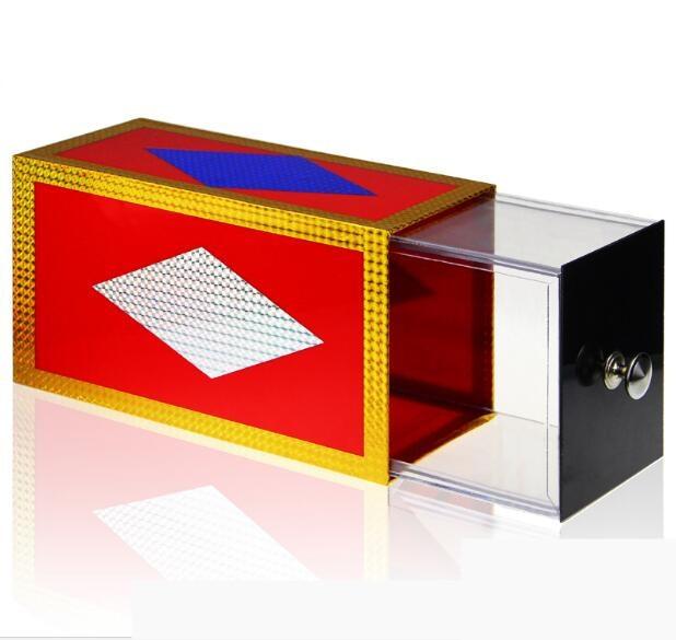 купить Drawer Box (Clear) Transparent Magic Tricks Production Items Box Appearing Stage Illusions Gimmick Fun Professional Magician по цене 1452.43 рублей