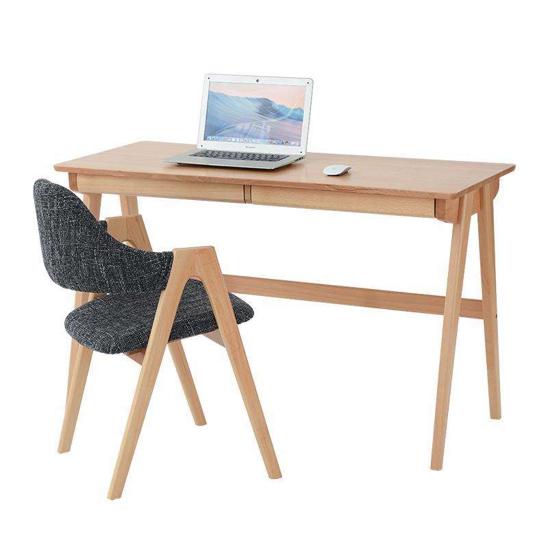 Adult Creative Chair Combination Fashion Beech Writing Student Home Simple Computer Desk