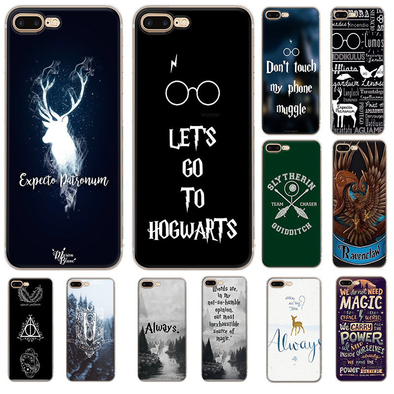 Phone Case <font><b>HarryPotter</b></font> Dynamic for iPhone 6 6s 7 8 Plus iPhone 11 Pro X XR XS Max 5 5s Se Cover Protection image