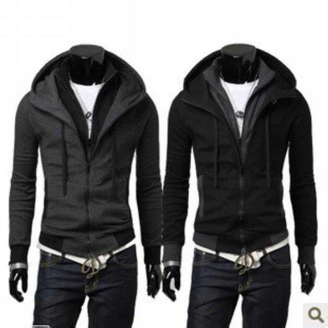 Fashion Autumn winter New Korean men's sweater jackets male models men Sexy Hot Sale Motorcycle Coat Free shipping JK22
