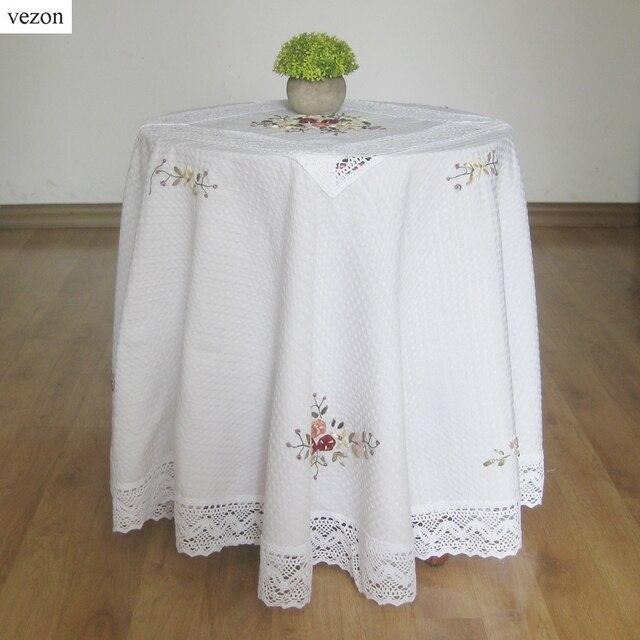 Vezon Nueva Venta Caliente Blanco Elegante Cubierta de Ganchillo ...