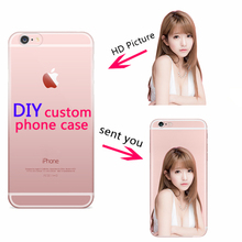Phone Case Customize Print Picture Silicone Back Shell Personalized Cover Cases For iPhone 11 PRO SE8 7 Plus XS MAX XR