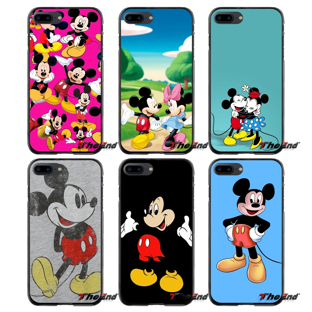 For Apple iPhone 4 4S 5 5S 5C SE 6 6S 7 8 Plus X iPod Touch 4 5 6 Accessories Phone Shell Covers Mickey