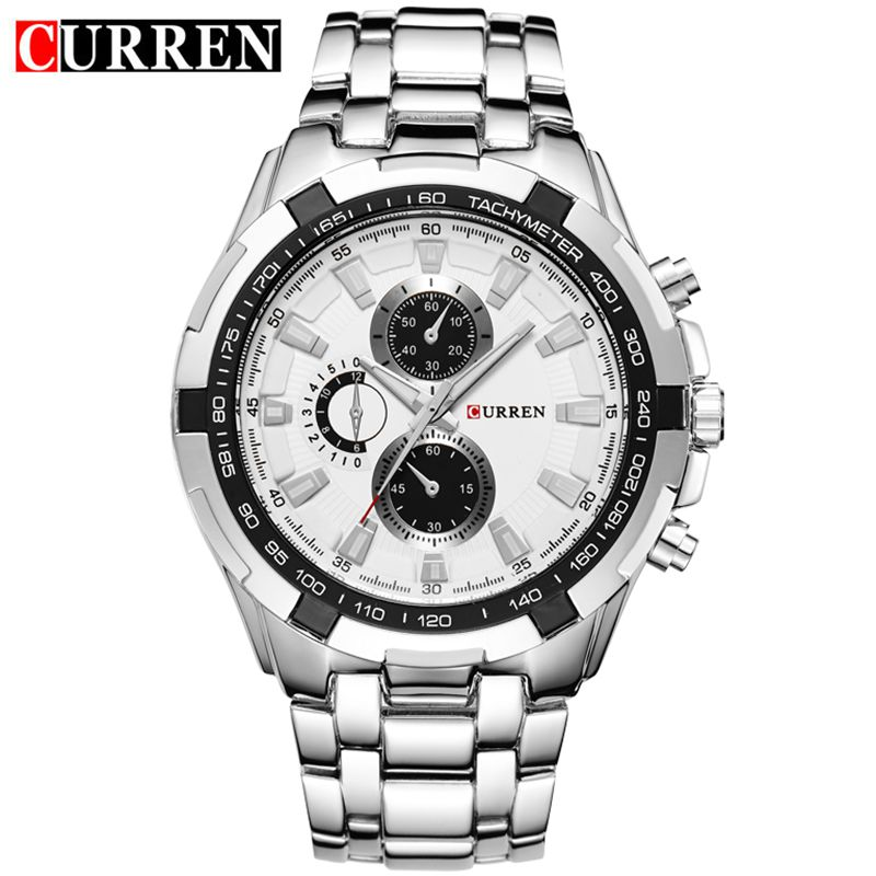 где купить Reloj Hombre CURREN 8023 Brand Simple Fashion Casual Business Watches Men Date Waterproof Quartz Mens Watch relogio masculino по лучшей цене