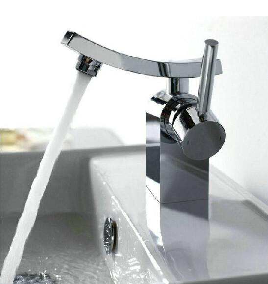 Unique design brass ch finished hot and cold bathroom - Bathroom sink faucets separate hot and cold ...