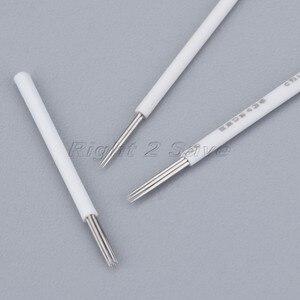 Image 4 - Bộ 50 Hình Xăm Lông Mày Kim 3R/5R/7R Inox 0.2mm/0.25mm bằng tay bút thường trực trang điểm Microblading Bút kẻ lông mày