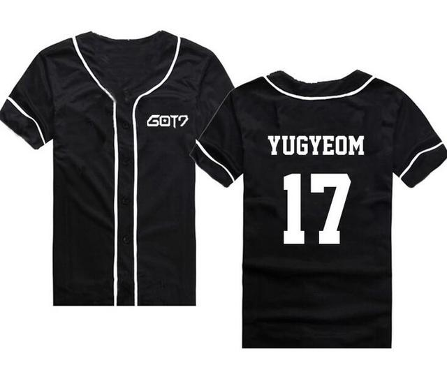 Got7 Baseball T-shirt Fashion 5