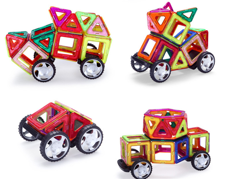 Magnetic Toy Building Set 8