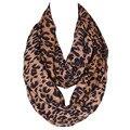 2016 зима twill хлопка ожерелье женская хлопок конопли леопардовым узором шарф