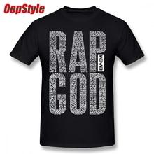 Eminem Rap Dios el Rapper roca Camiseta para hombres más algodón de tamaño  Camiseta de equipo ca3d9bd3d12