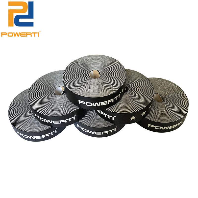 POWERTI 5pcs/lot 5000mm Badminton Racket Frame Protect PU Viscosity Stickers Tape Friction Stickers Black