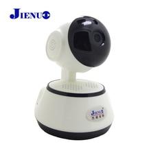 цена на JIENU ip camera 720p wifi cctv security wireless home system mini ptz surveillance cam Support Micro sd slot Night vision ipcam