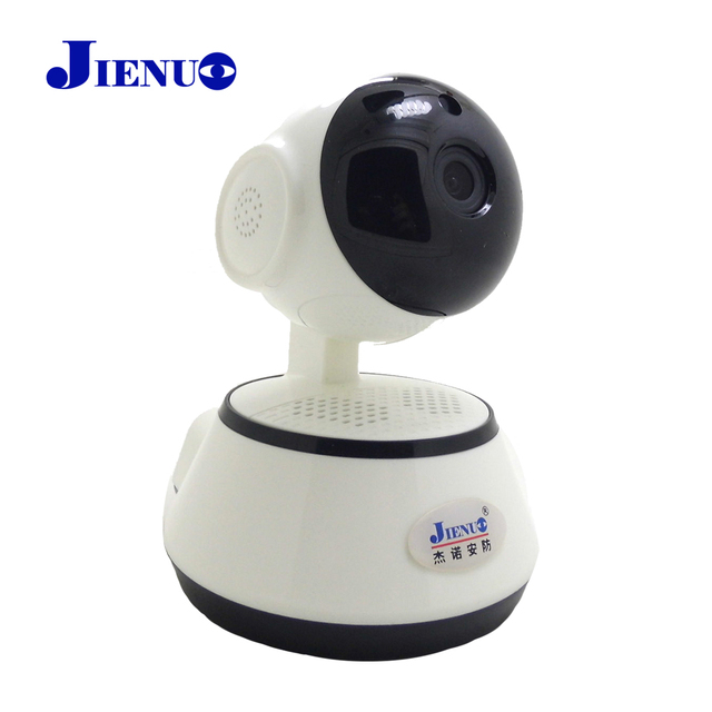 a267e526965 JIENU ip camera 720p wifi cctv security wireless home system mini ptz  surveillance cam Support Micro sd slot Night vision ipcam