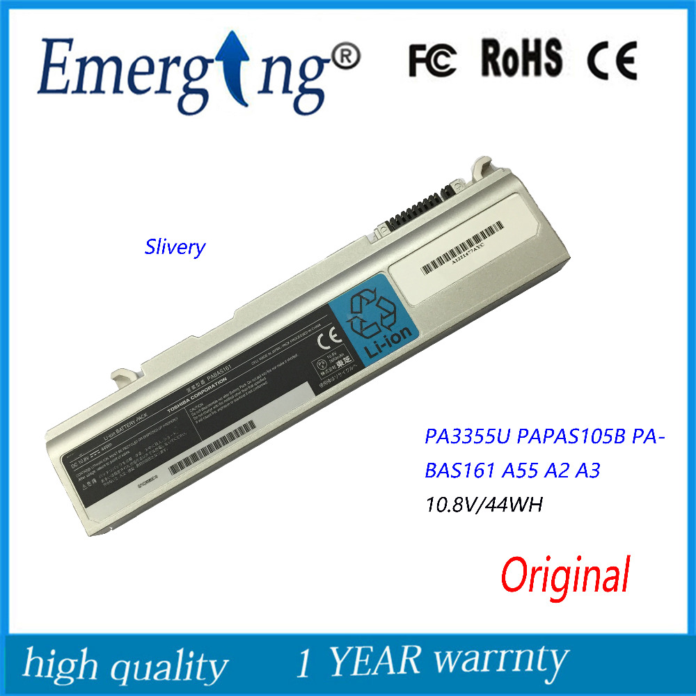 10.8V 44Wh New Original Laptop Battery for Toshiba K30 L20 K20 K32 K31 K21 K20 L21 PA3456U PA3357U PA3356U PABAS161 A10 ручной фонарик send force germany gl k31 gl k31 cree