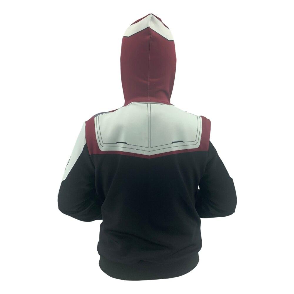 Avengers Endgame Quantum Realm Sweatshirt Jacket Advanced Tech Hoodie Cosplay Costumes 2019 new superhero Iron Man Hoodies suit in Hoodies amp Sweatshirts from Men 39 s Clothing