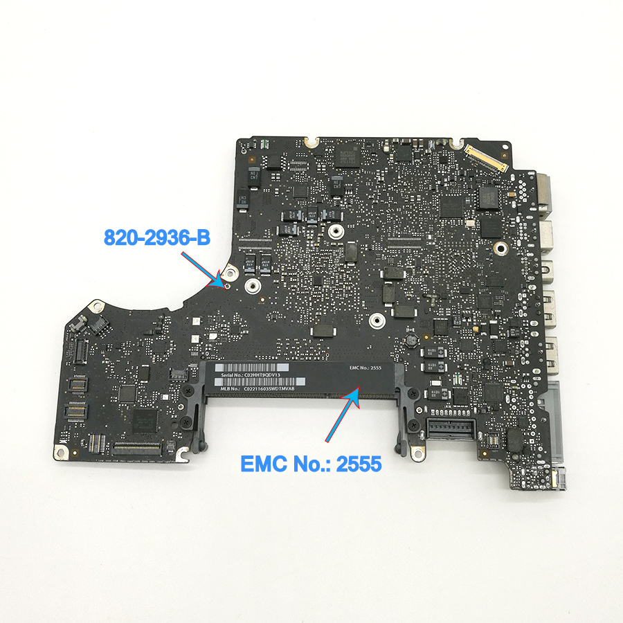 "Apple Macbook Pro Unibody 13/"" A1278 2012 MD101 i5 2.5GHz Logic Board 820-3115-B"