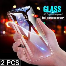 2pcs/Lot Tempered Glass Screen Protector For Xiaomi Pocophone F1 9 8 se Mi9 A3 A1 A2 Lite 5 5X MiA3 Mi9T Mi8 Mi6X MiA1 MiA2 Mi6(China)