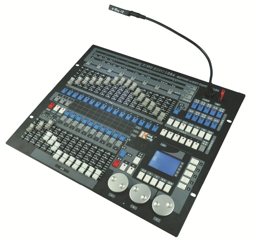 Купить с кэшбэком Chinese KingKong 1024 Channels DMX512 Console Control 96pcs Stage Lights Professional China Pearl Controllers DJ Disco Equipment