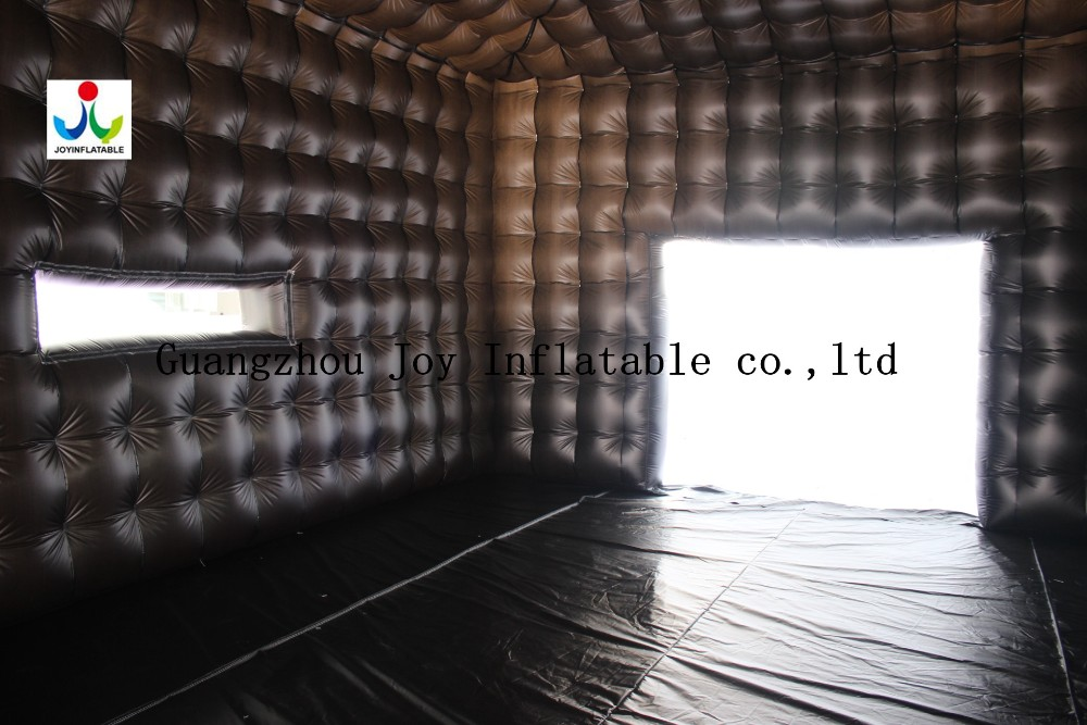 8LX8WX4HM 210D Oxford Giant Opblaasbare Kubus Tent in Witte en Zwarte Kleur - 3
