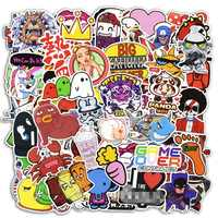 600 Pcs Mixed Funny Cartoon Stickers For Laptop Luggage Car Fridge Bike Motorcycle Vinyl Decals PVC Graffiti Waterproof Sticker