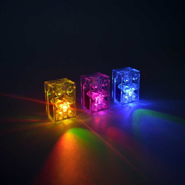 5pcs/lot LED Light Up Bricks For Lego Blocks Set