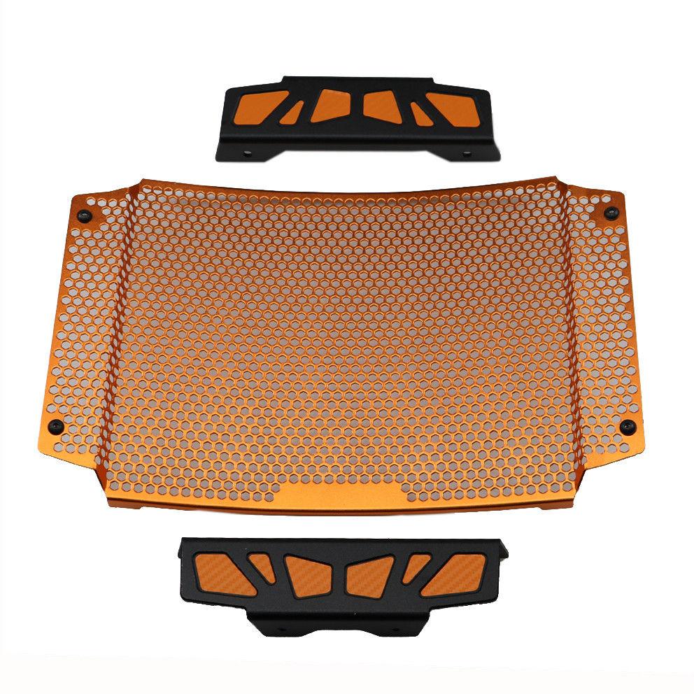 Orange Radiator Guard Grill Cover Engine Cooling Protector For KTM Duke 790 2018