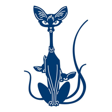 Siamese Cats Metal Dies Cutting Scrapbooking Embossing Cut Stencils Cards Craft for New 2019