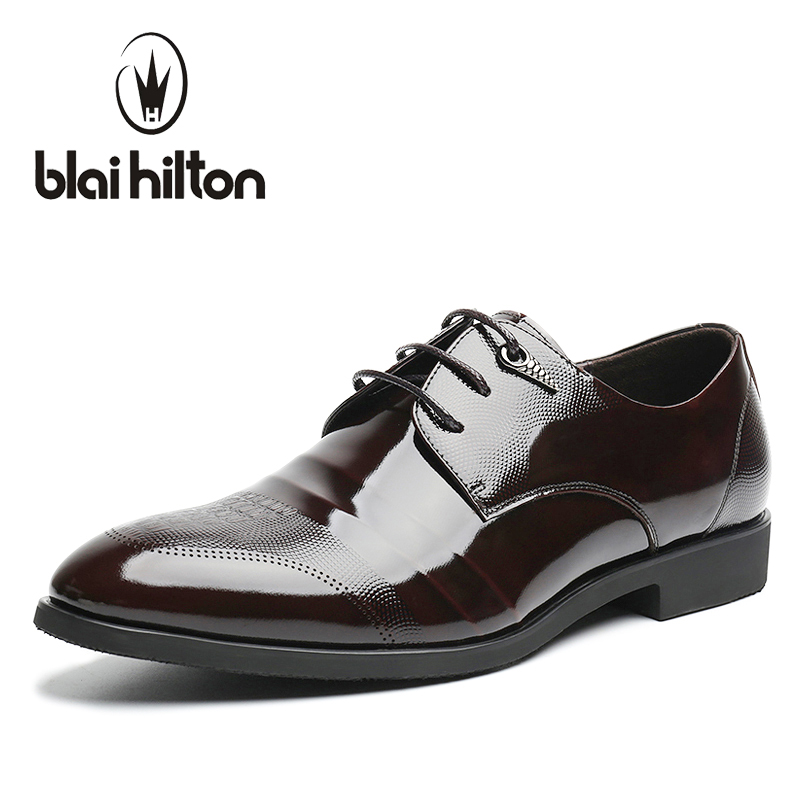 Blaibilton 2017 Embossing 100% Genuine Leather Luxury Oxfords Men Shoes Dress Fashion Business Mens Shoes Casual Designer SD6109 patriot gp 3810l