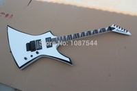 free shipping Top quality factory sale Jackson KE2 Kelly white electric guitar, jackson guitar