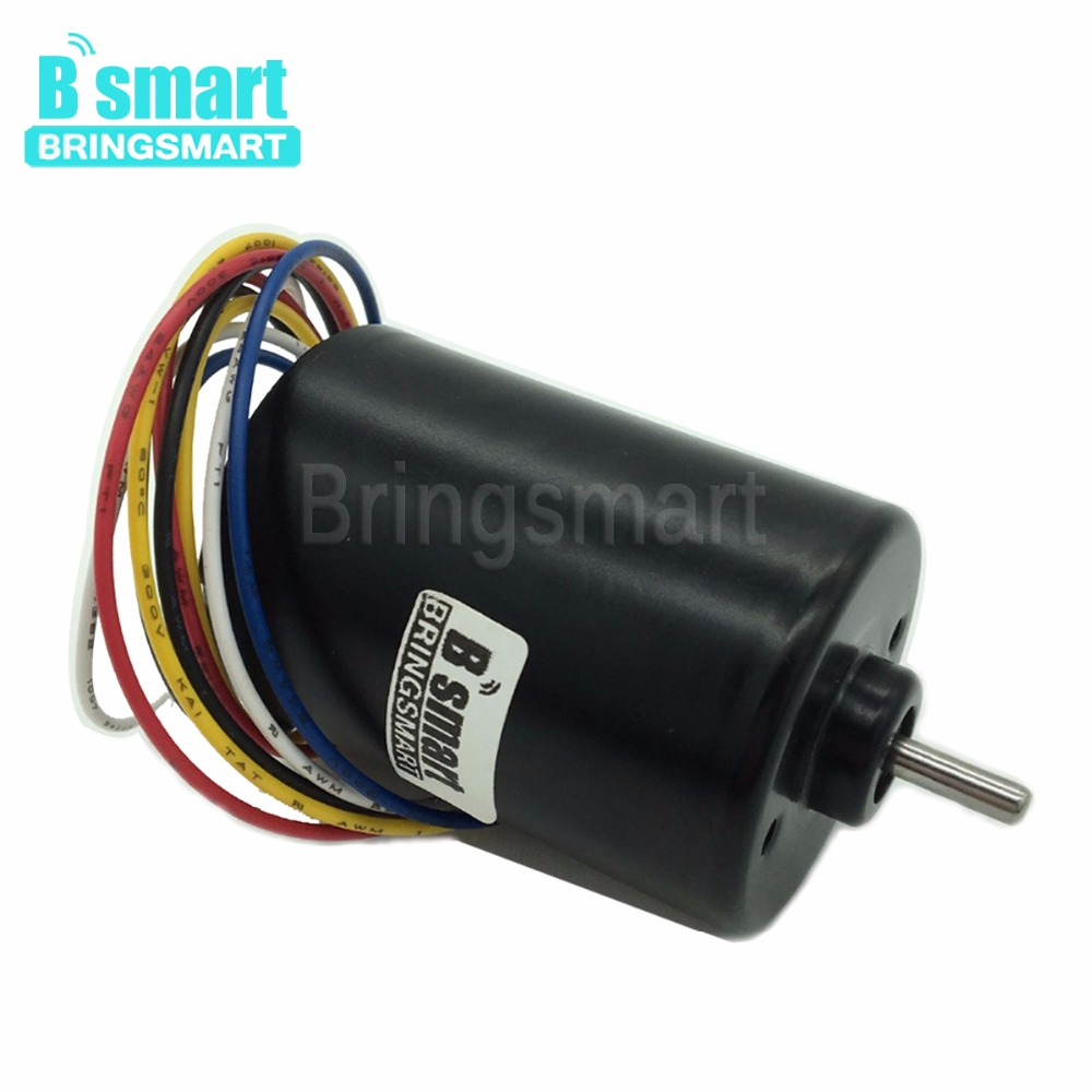 Bringsmart A3650 Brushless DC Motor 12V 24V Mini Motor DC 3000rpm 6000rpm Reversed Built-in Driver High Speed High TorqueBringsmart A3650 Brushless DC Motor 12V 24V Mini Motor DC 3000rpm 6000rpm Reversed Built-in Driver High Speed High Torque