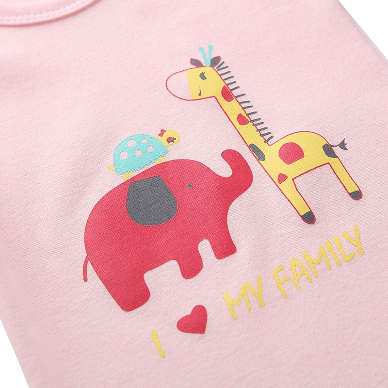 Mother Nest 3 Pieceslot Cartoon Style Baby Girl Boy Autumn Clothes New Born Body Baby Ropa Next Baby Bodysuit (7)