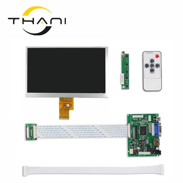 7 Inch 40pins 1024(RGB)*600 TFT EJ070NA-01J LCD Screen Display With Remote Driver Control Board 2AV HDMI VGA for Raspberry PI skylarpu 7 inch 1280 800 lcd screen ips screen with remote driver control board 2av hdmi vga for raspberry pi without touch