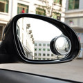 2pcs 2 Side Wide Angle Round Convex Car Vehicle Mirror Blind Spot Auto RearView for all car per set 360 Wide Angle Convex Mirror