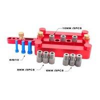Self Centering Dowelling Jig Set Metric Dowel Drilling Hand Tools Set Power Woodworking Tool 08550