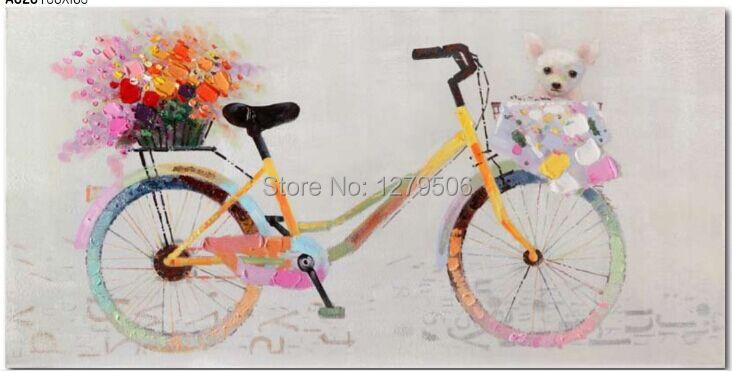 Handmade Modern Abstract Decorative Romance Single Bike