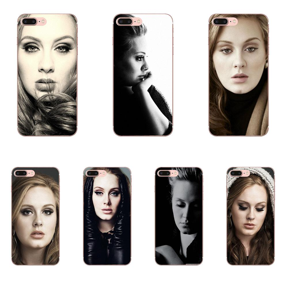 TPU Coque Case Capa Adele 21 For Samsung Galaxy Note 2 3 4 5