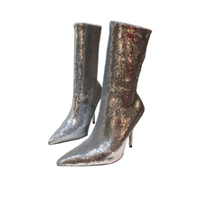 73b75232b6 Buy glitter ankle boots girls and get free shipping on AliExpress.com